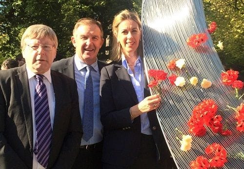 Seeds of Friendship sculpture unveiled