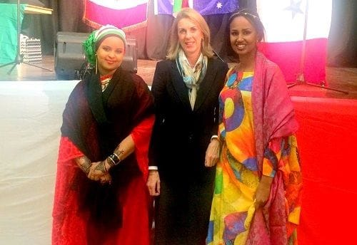 Celebrating with the Somali community