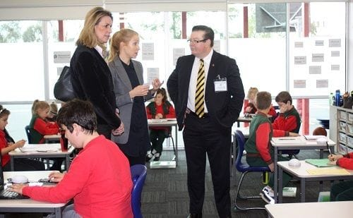 Arrowsmith at St Peter's Primary needs ongoing support