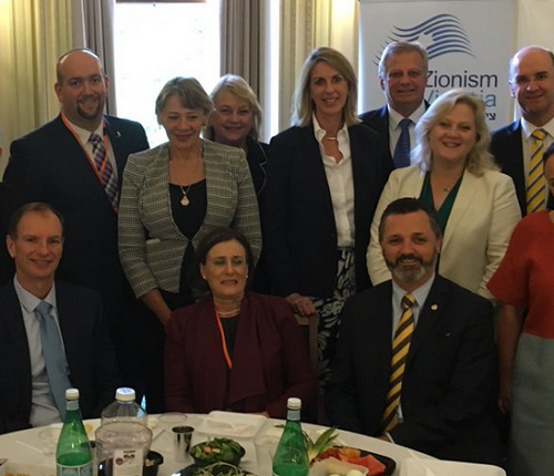 Happy Pesach in the Victorian parliament