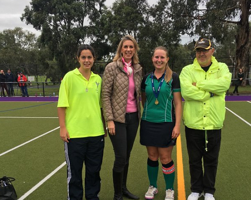 Supporting Women's Hockey at Hockey Victoria Women's Round