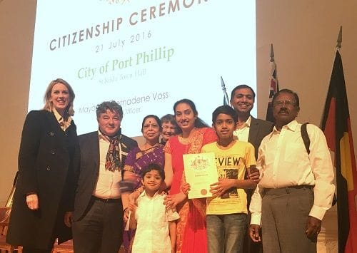 Congratulations and Welcome to the City of Port Phillip