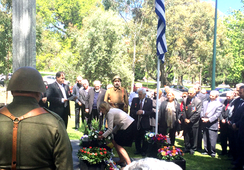 Commemorating with Greek Australians on Ohi Day
