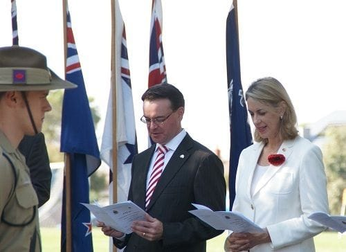 ANZAC commemorations in East Malvern