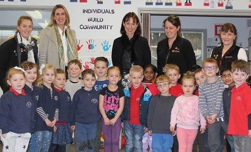 Visiting Kay Street Preschool in Traralgon