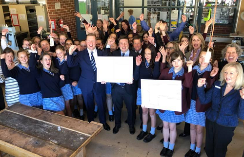 Backing Mentone Girls Secondary College