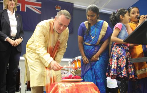 Enjoying Glen Huntly Primary Diwali celebrations