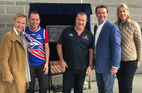 Opening of the Dunlop Pavilion redevelopment