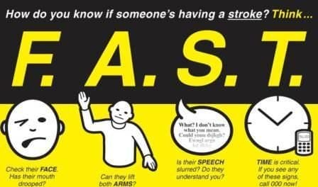 Recognise The Signs Of Stroke FAST