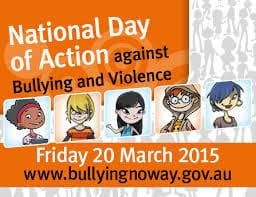 National Day of Action Against Bullying - Friday March 20