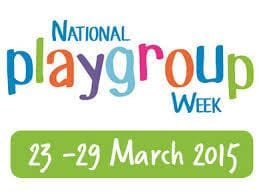 Playgroup Week is March 23 - 30