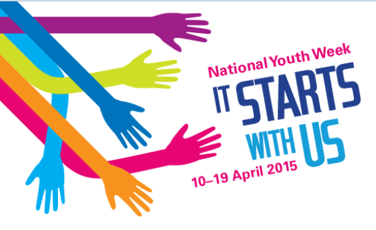 National Youth Week 2015 is 10-19 April