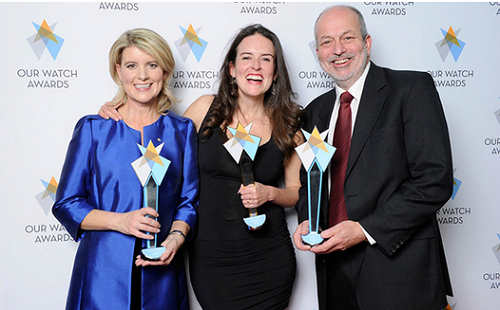 Our Watch Award 2015 winners announced