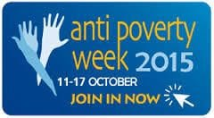 Anti-Poverty Week 11 to 17 October 2015