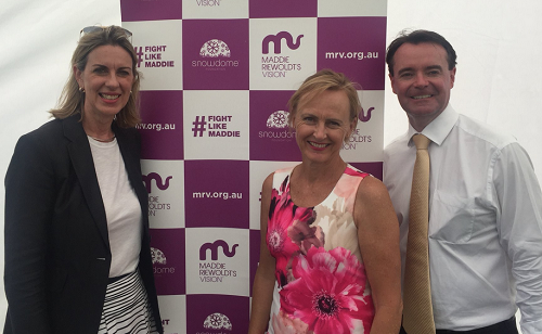 Supporting Maddie Riewoldt's Vision charity