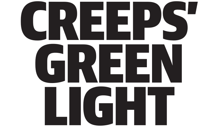Creeps' Green Light - HERALD SUN