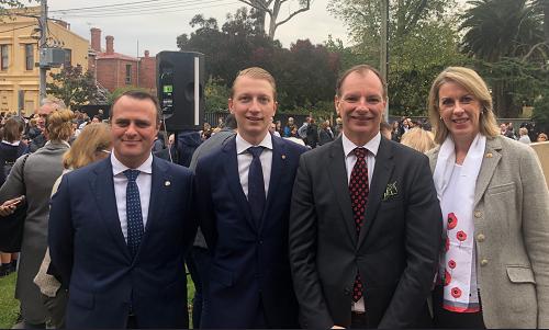 Commemorating ANZAC 2018 at Caulfield RSL