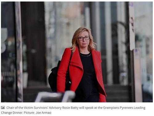 Rosie Batty to speak at event challenging family violence - ARARAT ADVERTISER