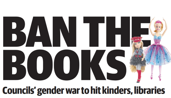 Ban the Books - HERALD SUN