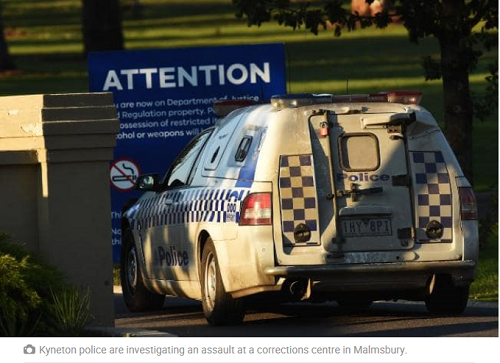 Staff injured in inmate brawl at Malmsbury Youth Justice Centre - HERALD SUN