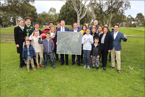 We need more open space, sporting fields and parklands