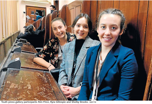 Youth take on Parliament - PAKENHAM GAZETTE