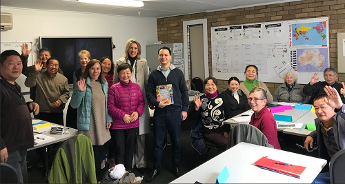 Terrific visit to Glen Eira Adult Learning Centre