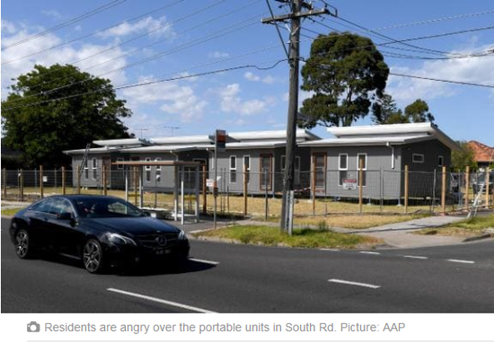 State Opposition promises to sell off controversial Brighton East site used for portable housing units - HERALD SUN