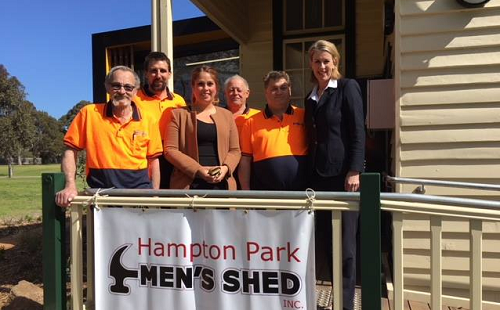 Equipment grant for Hampton Park Men's Shed