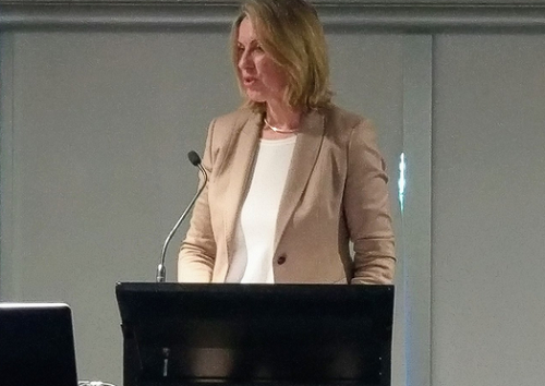 Speaking at the CCC VIC Forum