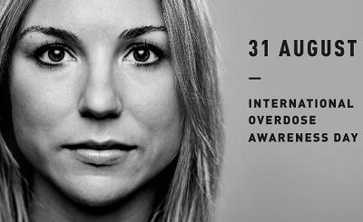 International Overdose Awareness Day - 31 August