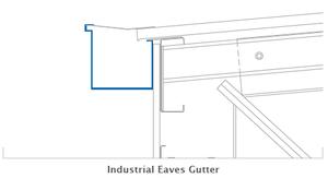 Industrial Eaves Gutters