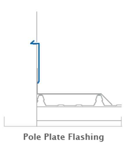 Pole Plate Flashings