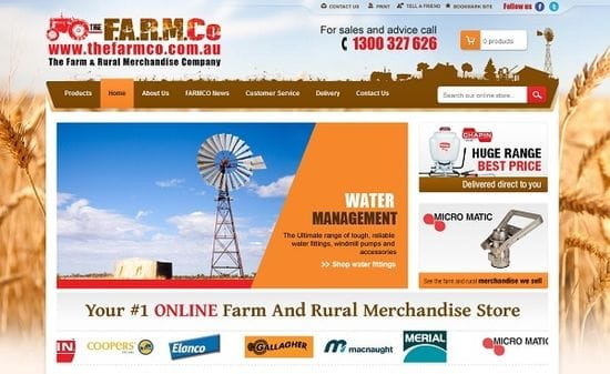 New Website Launched for The FARM Co