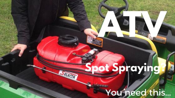 ATV Spot Spraying? You need this...