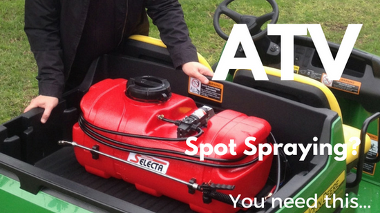 ATV Spot Spraying? You need this...