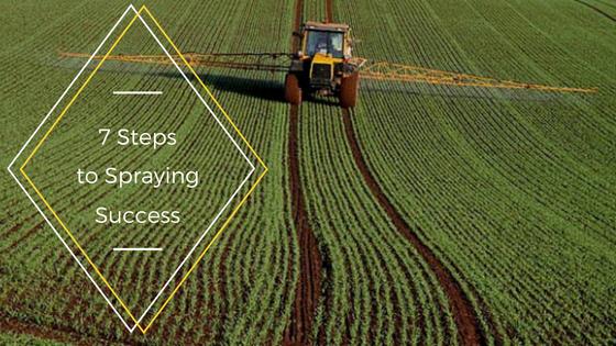 7 Steps to Spraying Success!