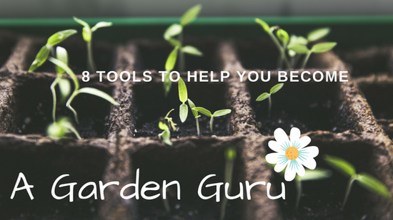 8 tools To Help You Become A Garden Guru