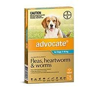 Bayer Advocate Medium Dogs 4-10 kg