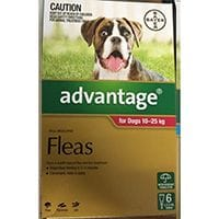 Bayer Advantage Flea Treatment Dogs 10 - 25kg