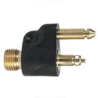 Moeller 1/4' NPT Male Fuel Line Connector