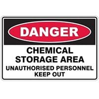 Silvan Sign Danger - Chemical Storage