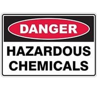 Silvan Sign Danger - Hazardous Chemicals