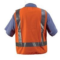 Silverwing Orange Hi-Vis Safety Vest - Various Sizes