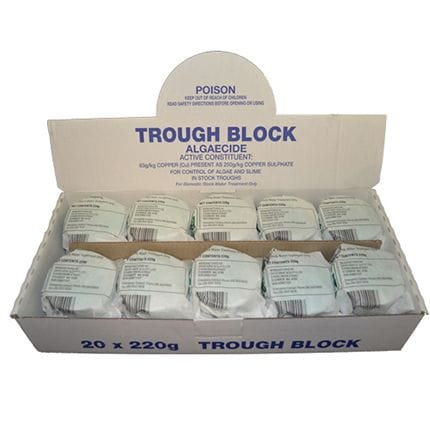 Bainbridge Trough Block - Algaecide