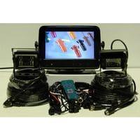 Dash Cam Kit 7inch (Monitor 2x Camera Brackets U-Bracket Remote & Wiring)