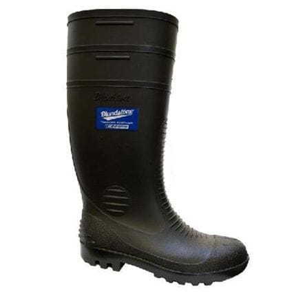 Blundstone Black Weatherseal Gumboots style 001