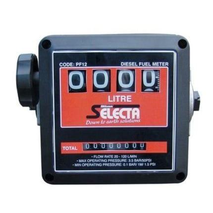 Silvan Selecta 4 Digit Mechanical Diesel Meter