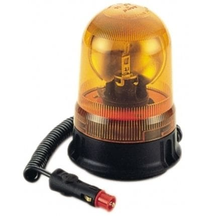 Silvan Selecta Euro Flashing Beacon Magnetic Base 12V