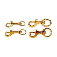 "Bainbridge Brass Snaphooks 92mm (3 1/2"")"